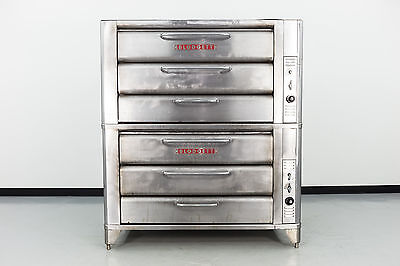 "Reconditioned Blodgett 981 Double Deck 42"" Gas Deck Oven"
