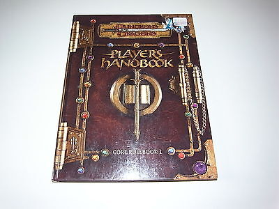 Dungeons & Dragons Players Handbook - Core Rulebook 1