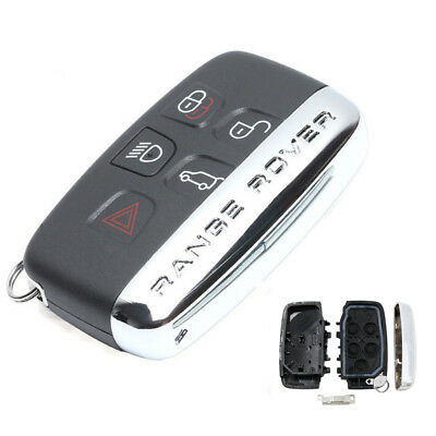 Remote Key Shell Case Fob 5 Button for Land Rover Range Rover Sport LR4 Words