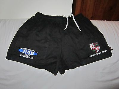 Tech Waratahs Sponsored Rugby Shorts Size Small