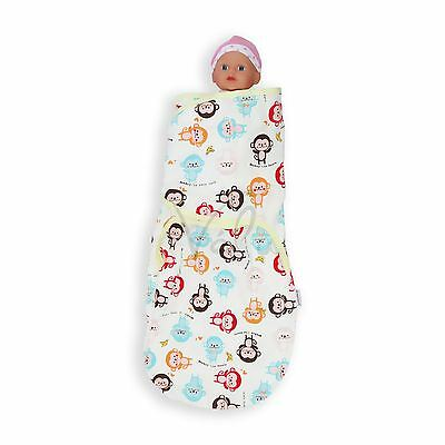 100% Cotton Soft Baby Infant Swaddle Wrap Blankt Sleeping Bag For 0-6 Months 8
