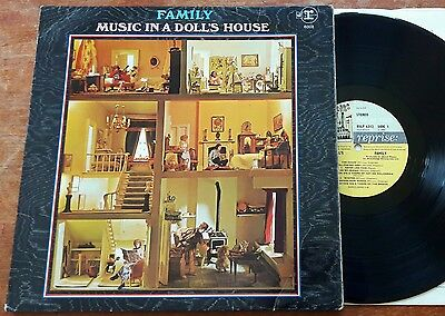 Family - Music In A Doll's House LP 1968 1st Press A1/B1 Stereo Reprise