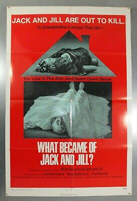 What Became Of Jack And Jill? - Original American One Sheet Movie Poster