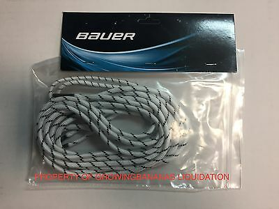 Bauer Goalie Pads CRS Stretch Toe Lace Kit! Bauer Supreme Goalie Laces 2 Pack