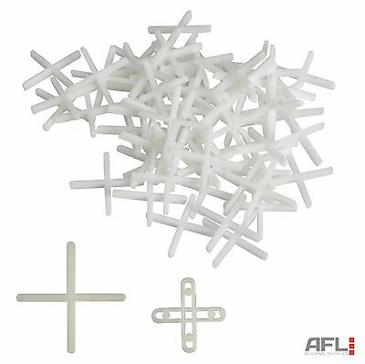 Faithfull Long Leg Floor & Wall Tile Spacers - 2mm, 3mm, 5mm - 250, 500 & 1000