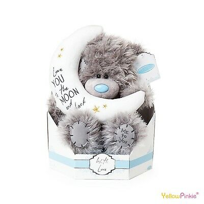 "Me to You Tatty Teddy Love You To The Moon And Back Bear Gift 9"" New G01W4100"