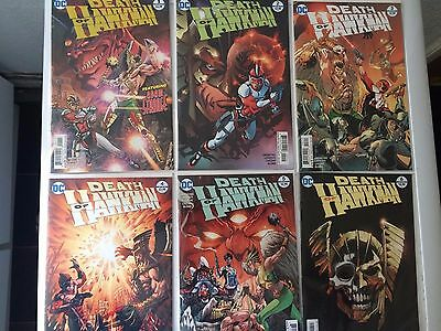 DEATH OF HAWKMAN COMPLETE SET #1 to #6