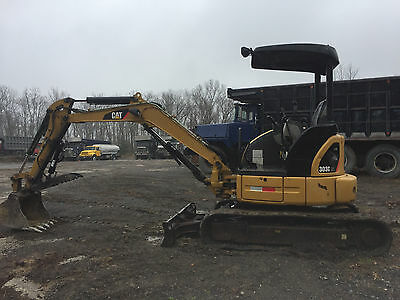 2008 CATERPILLAR Excavator 303CCR with hydraulic thumb