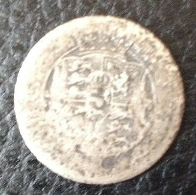 1816 Sixpence Silver Coin
