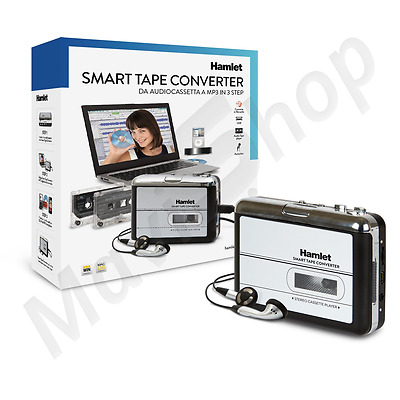 Converitore Audiocassetta a File Mp3 / CD Hamlet Interfaccia USB Lettore Audio