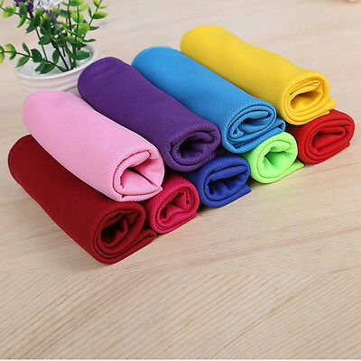 Ice Cold Enduring Running Jogging Gym Chilly Pad Instant Cooled Towel Sport Bath