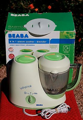 Beaba Babycook 4 in 1 Steam Cooker-Blender, The Original Baby Food Maker-B2066