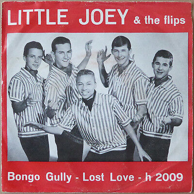 "7"" Little Joey And The Flips - Bongo Gully / Lost Love - Rock 'n' Roll - RARE"