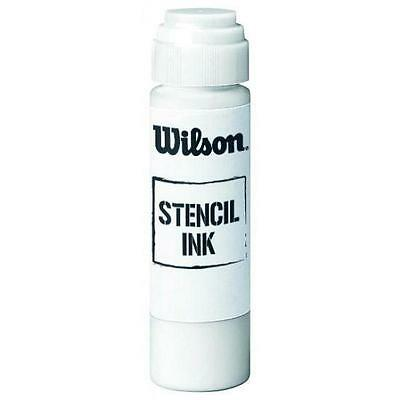 Wilson Badminton Squash & Tennis Racket String Super Stencil Ink - White Rrp £12