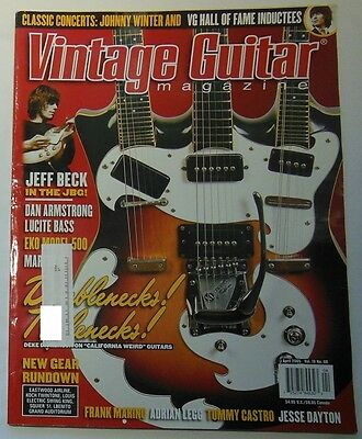 Lot of 4 Vintage Guitar Magazines