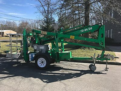 Genie TZ-34/20 towable Boom Lift