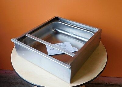 """NEW EAGLE GROUP 20"""" x 20"""" STAINLESS STEEL ENCLOSED DRAWER ASSEMBLY!"""