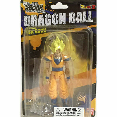 Dragon Ball Z Shodo Neo Super Saiyan Son Goku Action Figure NEW Toys Collectible