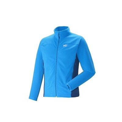 Polaire Millet Vector Grid Jacket Electric Blue