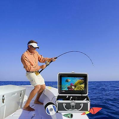 "NEW 20/30M 1000TVL Fish Finder 7""HD DVR Recorder Fishing Video Underwater Camera"