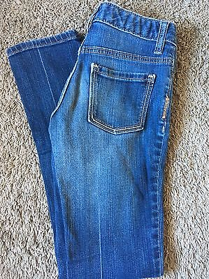 Girls Size 12 Old Navy Blue Jeans Skinny With Adjustable Waist