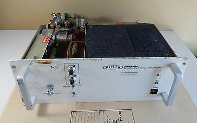 Ruska Series 6000 Direct Reading Pressure Gage / Controller Untested