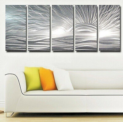 Metal Wall Art Sculpture contemporary modern abstract painting