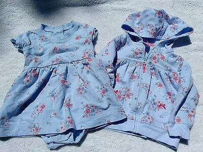Infant baby girls clothing 12 months outfit set CARTERS spring color DRESS