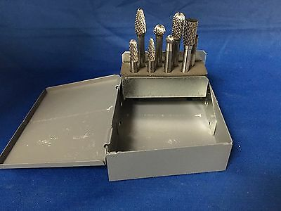 Michigan Drill CBS8 8PC CARBIDE BURR USA SET