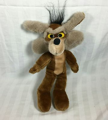 "Wiley E. Coyote - Looney Tunes 12"" Plush Stuffed Animal from Ace Novelty - 1995"