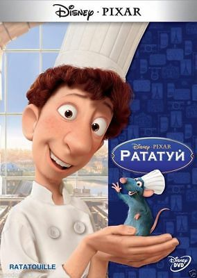 Рататуй/Ratatouille (DVD, 2013) Russian,English,Ukrainian,Polish,Estonian
