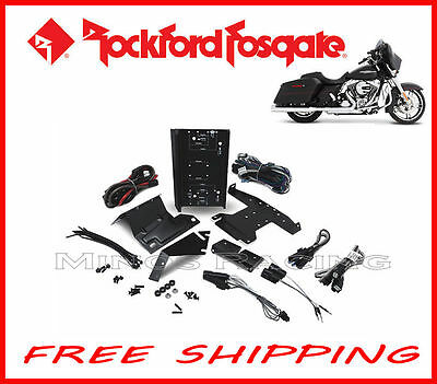 Rockford Fosgate Harley Amplifier Install Kit 1998+