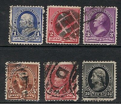United States 1890 - 93 Definitives