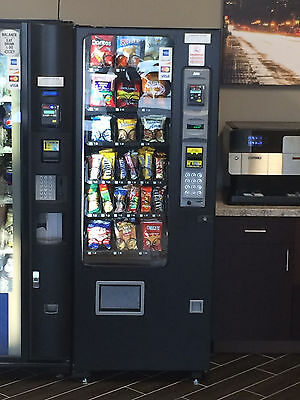 AMS sensit 3 slim gem snack vending machine brand new free ship 3yr warranty