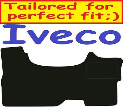Tailored Deluxe Quality Car Mats Iveco Daily 2006-2009 ** Black **