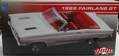 1/18 1966 Fairlane GT Convertible in White by GMP