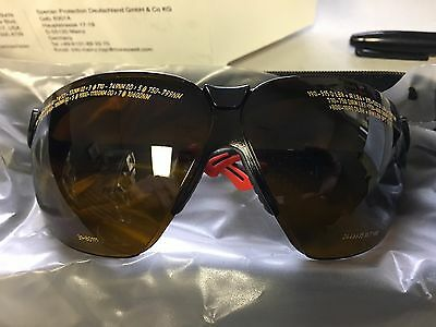 HONEYWELL 31-80111 Laser Glasses, Brown, Uncoated