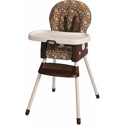 Graco SimpleSwitch High Chair Little Hoot, Baby seat, convertible booster NEW