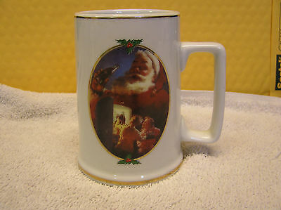 "Christmas Mug ""For Santa"" Coca-Cola 1996 collector edition"