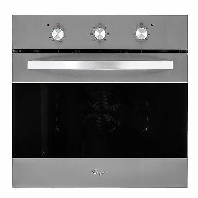 """24"""" Tempered Glass Electric Built-in Single Wall Oven 2800W 220V"""