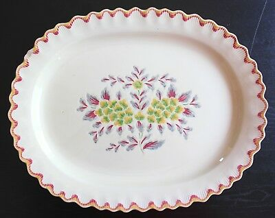 Large Oval Platter Adams Rd 782219 Royal Ivory Titian Ware Vintage Hand Painted