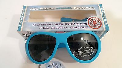 BABIATORS Sunglasses for Baby Toddler Age 0-3 Brand New Blue in Box