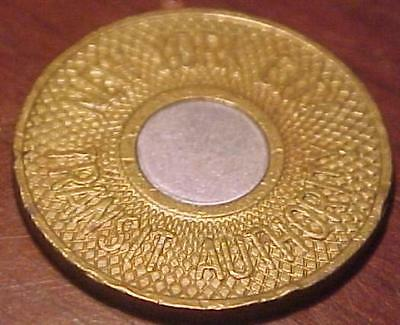 New York City Transit Authority closed center one fare token