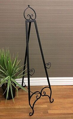 FRENCH EASEL Brown Metal Medium 1.19mt high Wedding  or Corporate