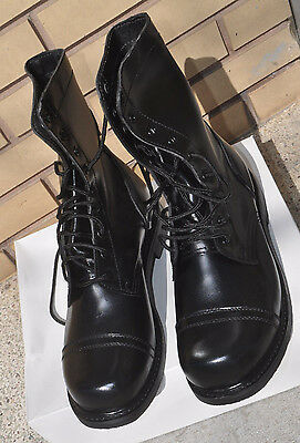 New Canadian Forces Garrison Style Combat Boots Size 7 to 10.5 Non-Steel-Toe