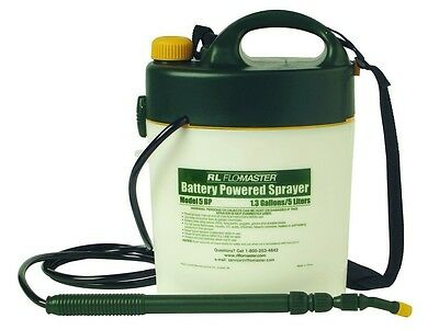Root Lowell Fountain Lowell Mics Sprayer Root 5-Liter Flo-Master Battery Powe...