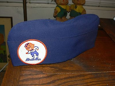 Vintage Union 76 Gas Station Minute Man Employee Uniform Hat ( Blue Version )