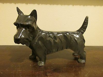 Vintage A P Germany Terrier Dog Porcelain Figurine