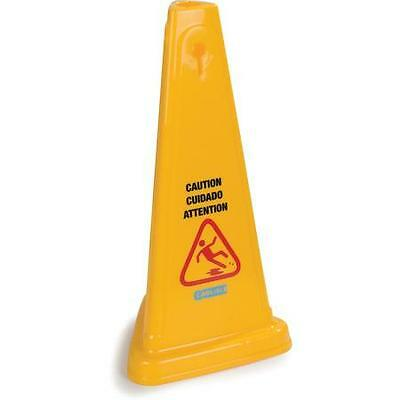 """Carlisle 3694004 Caution Cones And Barriers Caution Cone 27"""" Yellow 3 pack"""