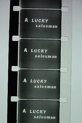VINTAGE..1930s 16mm film,Stag...' A Lucky Salesman '...b/w